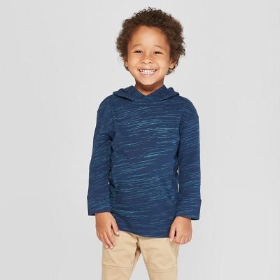 Toddler Boys' Hoodie Sweatshirt - Cat & Jack™ Navy 12M