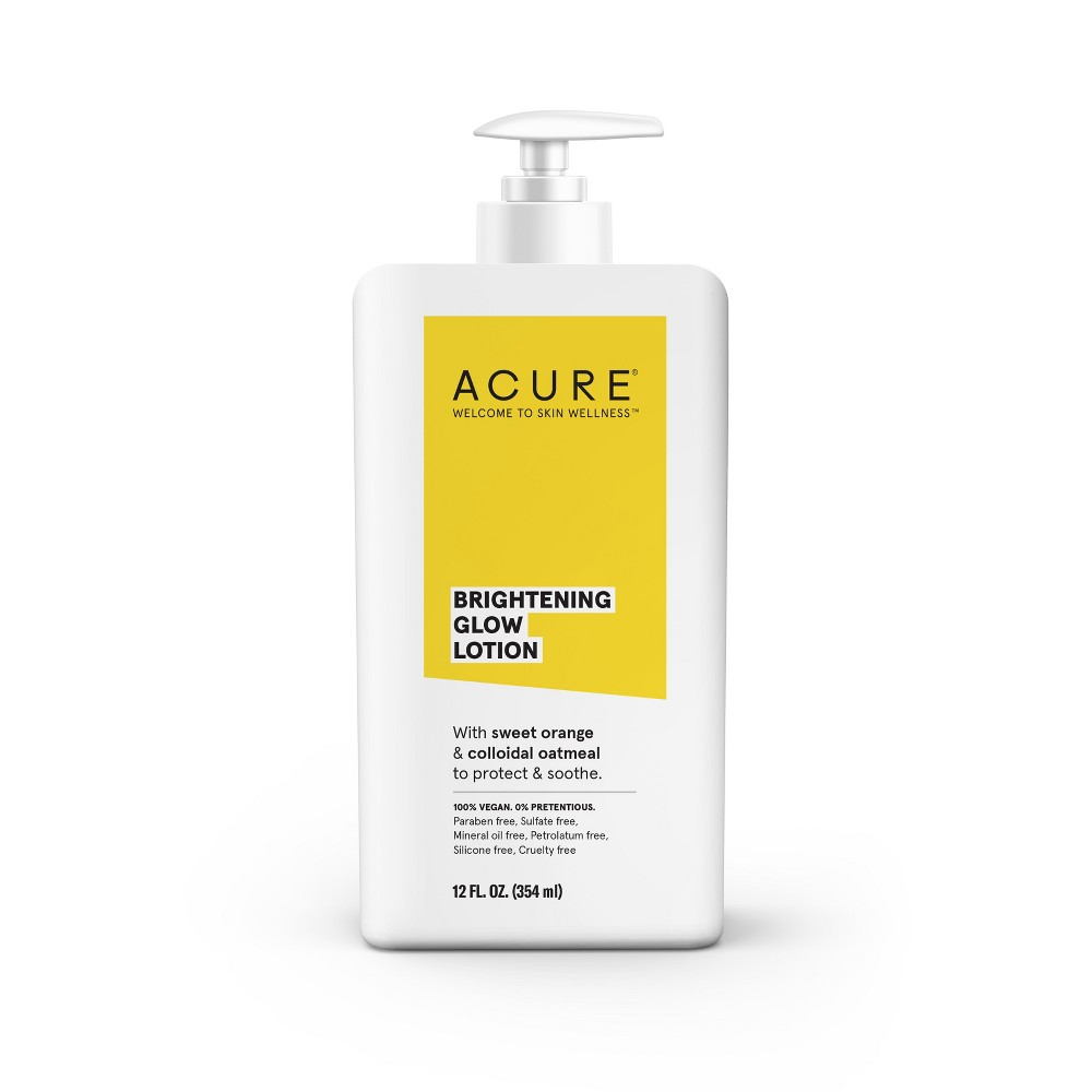 Image of Acure Brightening 24hr Moisture Lotion - 12 fl oz