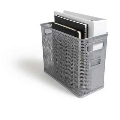 MyOfficeInnovations Wire Mesh File Organizer, Silver (TR57551) 24402455