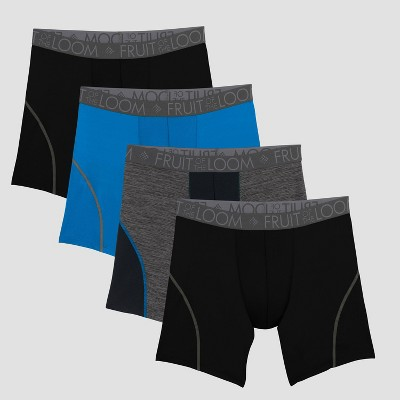 ‎Fruit of the Loom Select Men's Breathable Performance Boxer Briefs 4pk