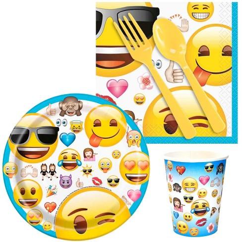 16ct Emoji Snack Party Pack Target