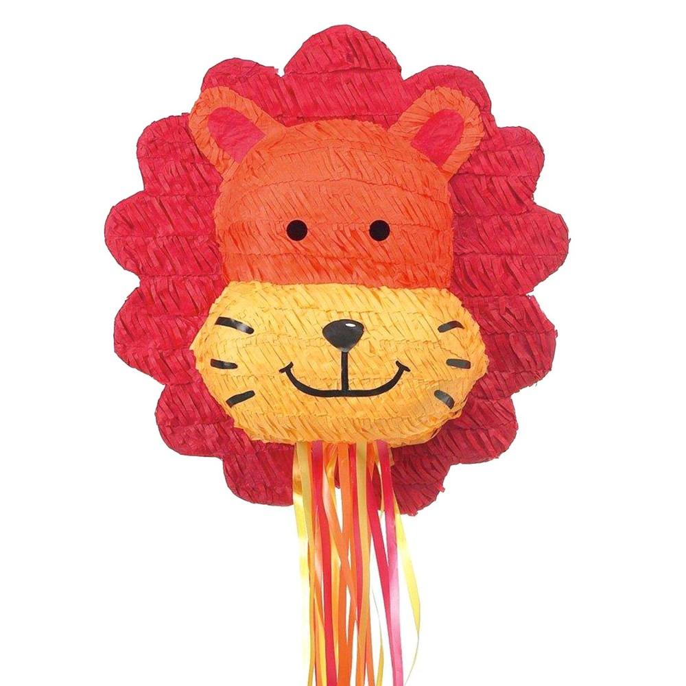 Lion Pinata, Multi-Colored