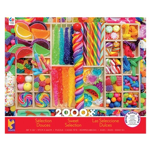 Ceaco 2000pc Sweet Selections Puzzle - image 1 of 1