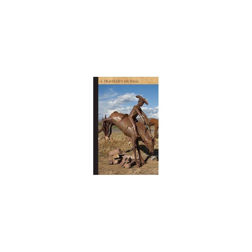 Iron Horses and Cactus Near Sedona, Arizona - (Notebook / blank book)