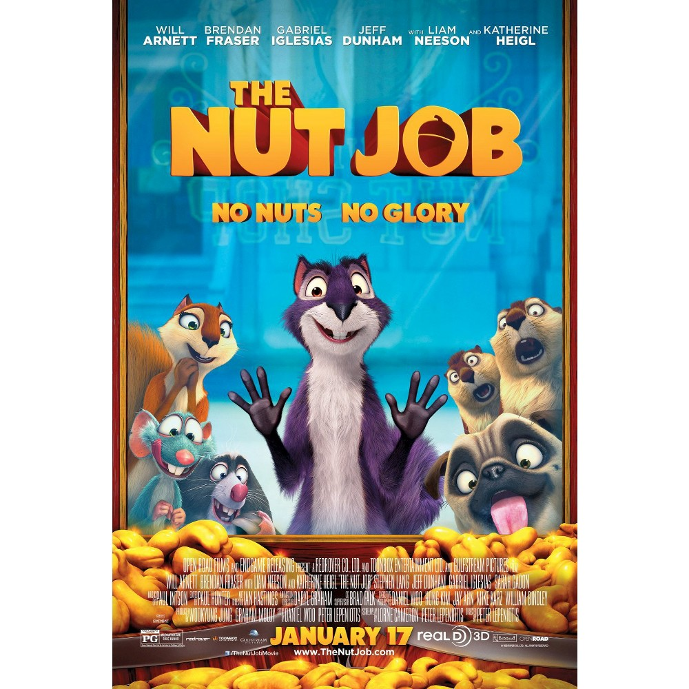 The Nut Job, Movies