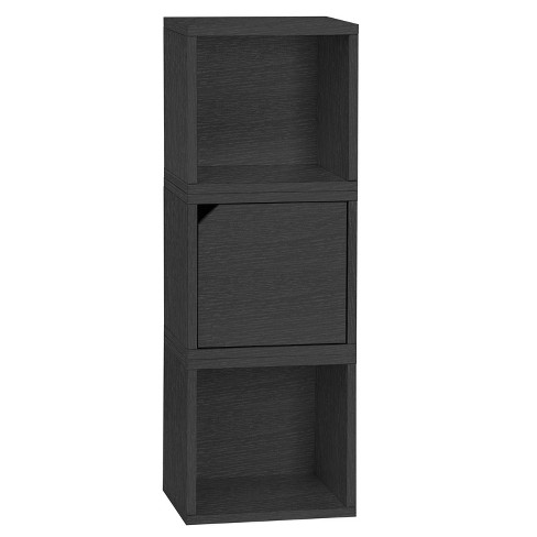 Way Basics 3 Cubby Stackable Connect Cube System Modular Storage Bookcase - Lifetime Guarantee - image 1 of 2