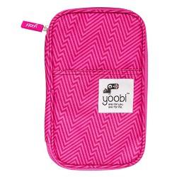 Yoobi™ Pencil Case - Pink Ziggy