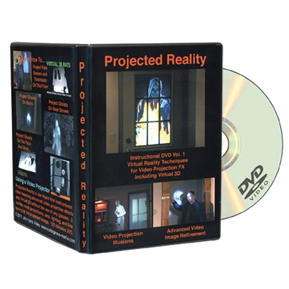 Image of DVD Projected Reality Vol 1 Halloween LED Special Effect Lights