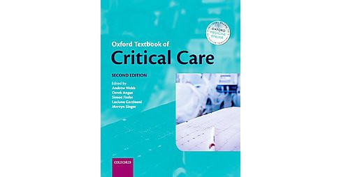 Oxford Textbook of Critical Care (Hardcover) - image 1 of 1