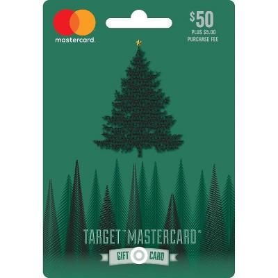 Mastercard Holiday Gift Card $50 + $5 Fee