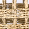 Manmade Outdoor Wicker Basket Beige - Threshold™ designed with Studio McGee - image 3 of 4