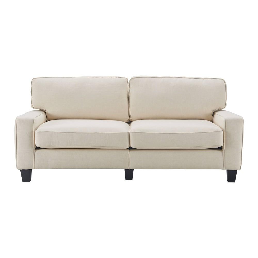 """Image of """"78"""""""" Palisades Sofa Light Cream - Serta, Light Ivory"""""""
