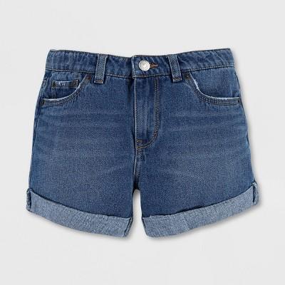 Levi's® Girls' Girlfriend Jean Shorts - Evie Medium Wash