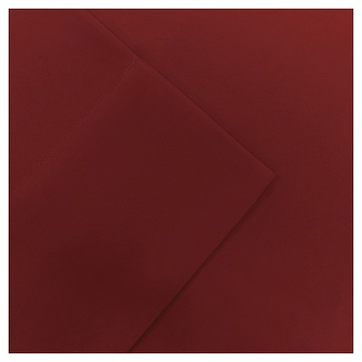 Queen Micro Splendor Ultra Soft Wrinkle Free Microfiber Sheet Set Red