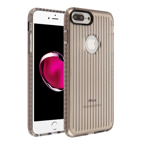 MYBAT For Apple iPhone 6 Plus/6s Plus/7 Plus/8 Plus Clear Smoke Suitup TPU Case Cover - image 1 of 4