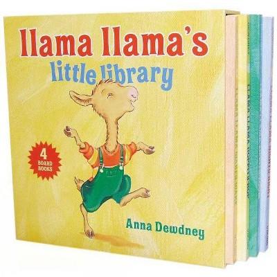 Llama Llama's Little Library (Board Book)by Anna Dewdney