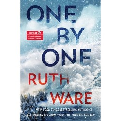 One by One - Target Exclusive Edition by Ruth Ware (Hardcover)
