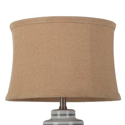 Large Soft Back Burlap Lampshade Tan - Threshold™
