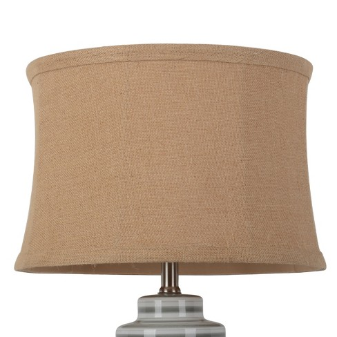 Large Soft Back Burlap Lampshade Tan - Threshold™ - image 1 of 2