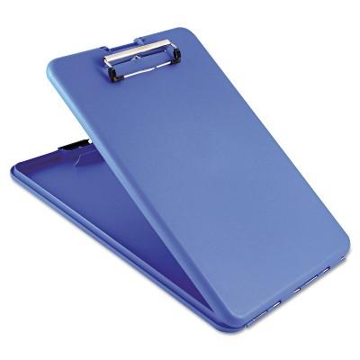 "Saunders SlimMate Storage Clipboard 1/2"" Clip Cap 8 1/2 x 11 Sheets Blue 00559"