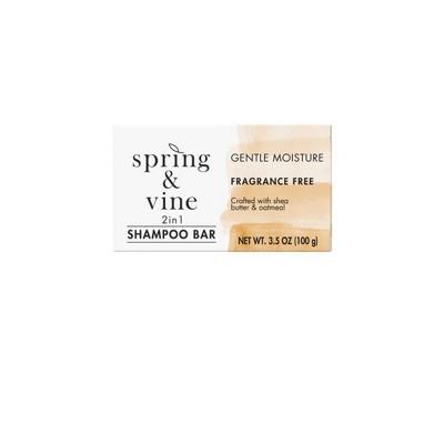 Spring & Vine Moisturizing Oatmeal Shampoo Bar - 3.5oz