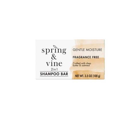 Spring & Vine Moisturizing Oatmeal Shampoo Bar - 3.5oz - image 1 of 4