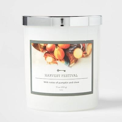 Glass Jar Harvest Festival Candle - Threshold™