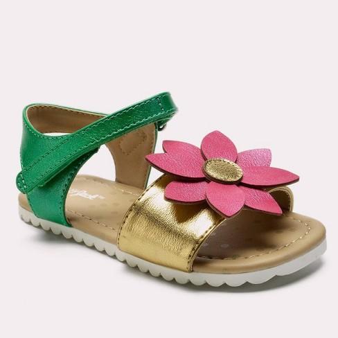 Toddler Girls' Tomasa Slide Sandals - Cat & Jack™ Pink - image 1 of 3