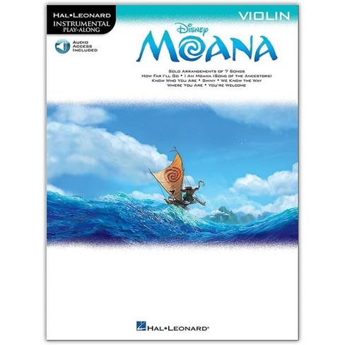 Hal Leonard Moana for Violin - Instrumental Play-Along Book/Audio Online - image 1 of 1