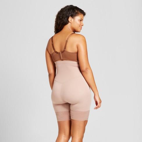 660d2e375110 Maidenform Self Expressions Women's Plus High Waist Thigh Slimmer - SE1024  : Target