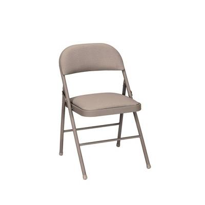 4pk Fabric Folding Chair Antique Linen - Room & Joy