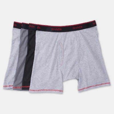 hanes stay clean shorts
