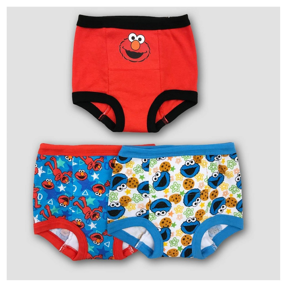 Toddler 3pk Elmo Training Pants Briefs 3t