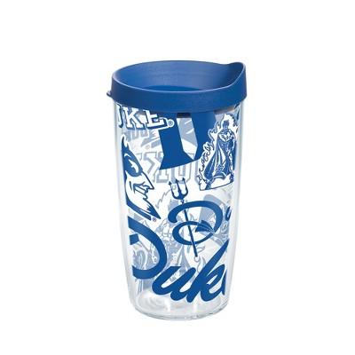 NCAA Duke Blue Devils All Over 16oz Tumbler with Lid
