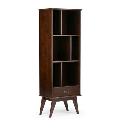 Tierney Solid Hardwood Mid Century Bookcase and Storage Unit  - WyndenHall
