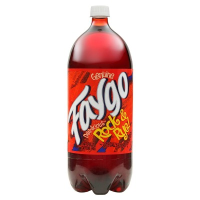 Faygo Rock & Rye Soda - 2 Liter Bottle