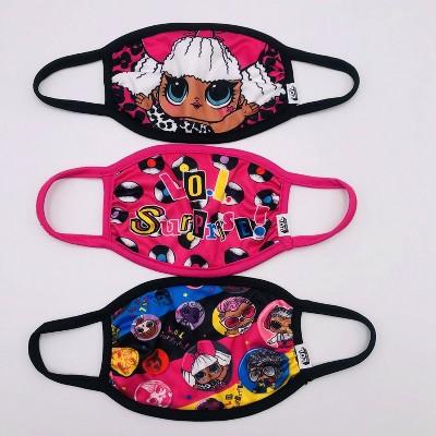 Kids' 3pk L.O.L. Surprise! Face Mask