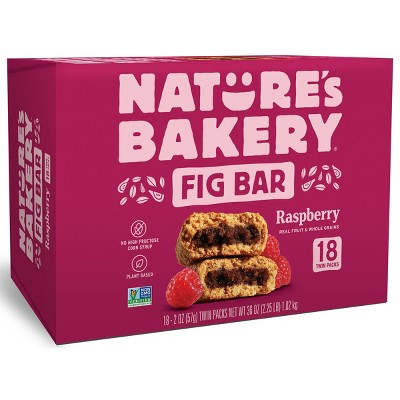 Nature's Bakery Raspberry Fig Bar - 18ct