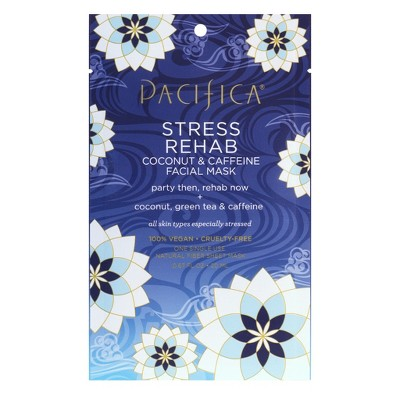 Pacifica Stress Rehab Coconut and Caffeine Face Mask - 0.67 fl oz