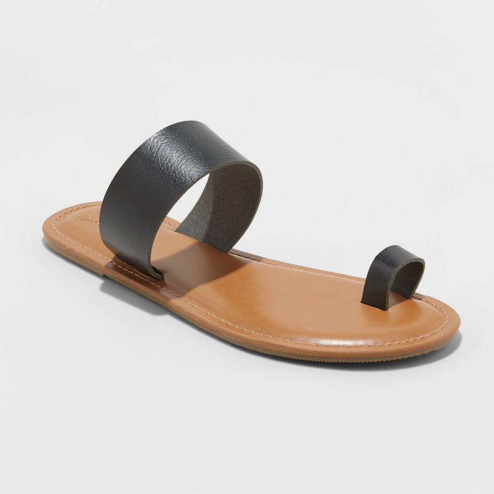 Women 39 s Kessie Toe Ring Slide Sandals Universal Thread 8482