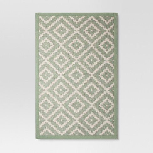 "Forgotten Sage Jacquard Rugs 1'8""X2'10"" - Threshold™ - image 1 of 2"
