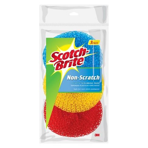Scotch-Brite  Non-Scratch Scrubbing Pads - 3pk - image 1 of 1