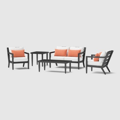 Thelix 5pc Seating Set - Cast Coral - RST Brands