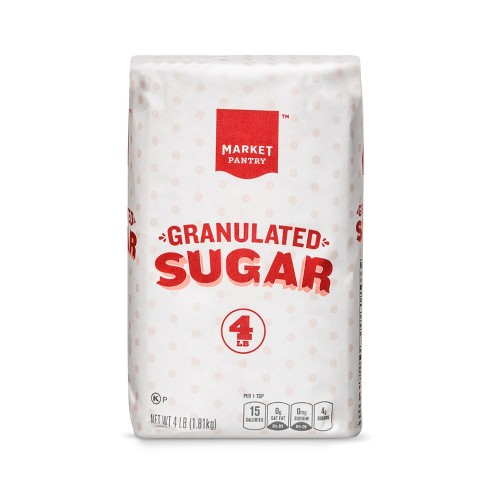 Granulated Sugar- 4lb - Market Pantry™ - image 1 of 1