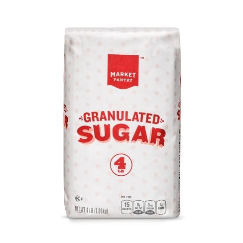 Granulated Sugar- 4lb - Market Pantry™ - image 1 of 1