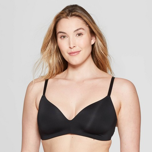 Women's Bliss Lightly Lined Wirefree Bra - Auden™ - image 1 of 3