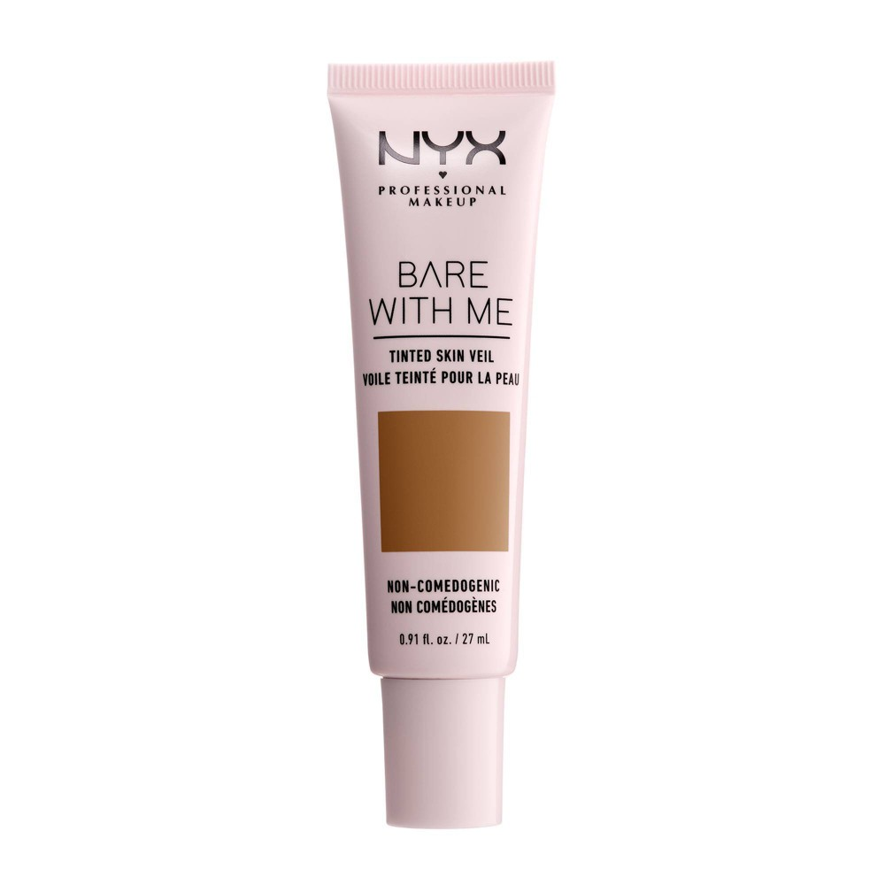 Image of Bare With Me Tinted Skin Veil Cinnamon Mahogany - 0.91 fl oz, Red