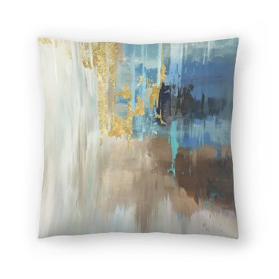 Americanflat Flurry by Pi Creative Art Throw Pillow