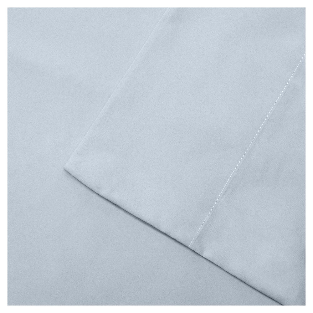 Twin Extra Long 3m Microcell All Season Moisture Wicking Lightweight Sheet Set Blue
