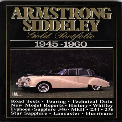 Armstrong Siddeley - (Gold Portfolio) by  R M Clarke (Paperback) - image 1 of 1